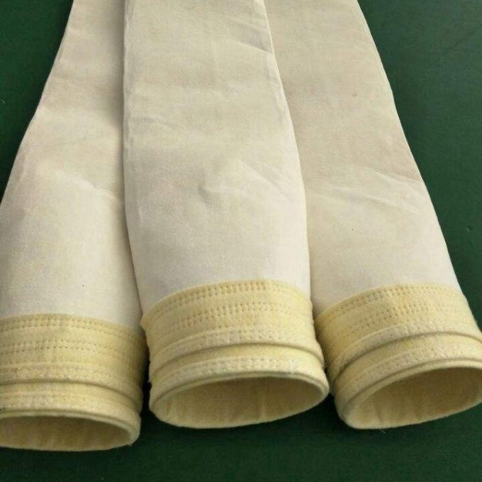 DN 130 x 6000 mm Industrial Dust Filter Bags Widely Used In Dry GCP System