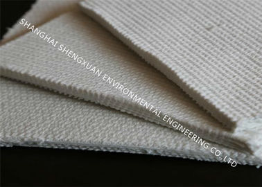 Pneumatic Air Slide Cloth No Moisture Absorption In Polyester Spun Fiber Materials