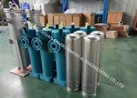 Stainless Steel Bag Filter Housing , High Pressure Chemical Top Inlet SS Filter Housing