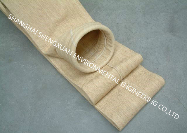 Asphalt Mixing Plant Dust Collector Filter Bags Nomex For Cleaning