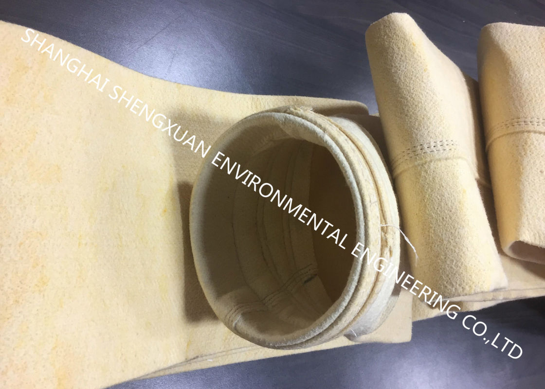 Ultra Fine Fiberglass Filter Bag Element For 650 m3 Blast Furnace Dry Gas Cleaning Plants