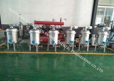 Handwheel Operation Bag Filter Vessel Effective For Water Filtration System