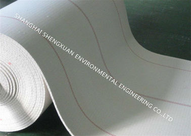 4 Ply Solid Weave Air Slide Cloth Permeable Customized For Industrial Conveyor