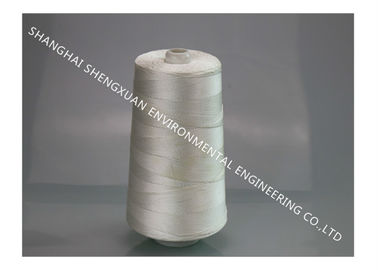 E - Fiberglass Teflon Sewing Thread For High Temperature Industrial Dust Bag Stitching