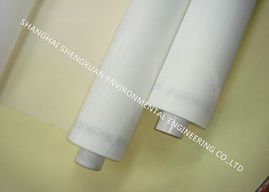 Hard Wear Screen Printing Mesh , PET Monofilament Polyester Silk Screen Fabric Mesh