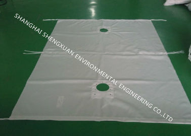 800 x 800 mm Filter Press Fabric Alkali Resistant With Good Hygroscopic Properties