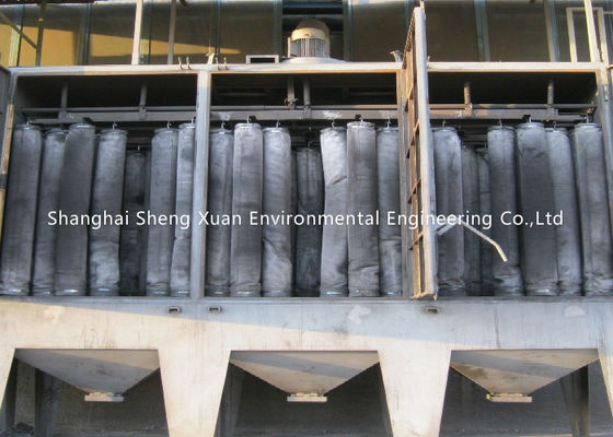 Reverse Fiberglass Dust Collector Filter Bags 280 Degree